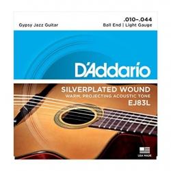 D'Addario EJ83L Gypsy Jazz Akustik Gitar Teli (.010-.044)