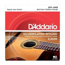 D'Addario EJ83M Gypsy Jazz Akustik Gitar Teli (.011-.045)