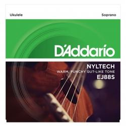 D'Addario EJ88S Nyltech Soprano Ukulele Teli
