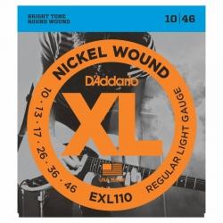 D'Addario EXL110 Elektro Gitar Teli (010-046)