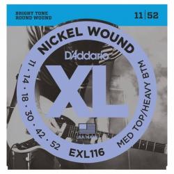 D'Addario EXL116 Elektro Gitar Teli (011-052)