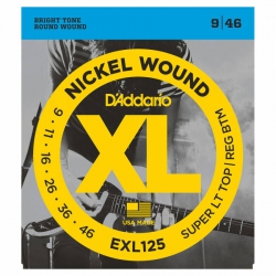 D'Addario EXL125 Elektro Gitar Teli (009-046)