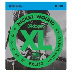 D'Addario EXL130 Elektro Gitar Teli (008-038)