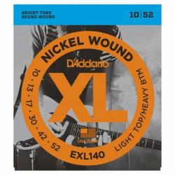 D'Addario EXL140 Elektro Gitar Teli (010-052)