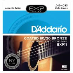 D'Addario EXP11 80/20 Akustik Gitar Teli (012-053)