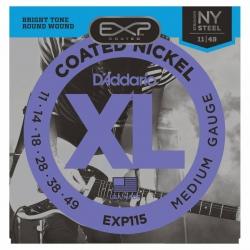 D'Addario EXP115 Elektro Gitar Teli (011-049)