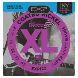 D'Addario EXP120 Elektro Gitar Teli (009-042)