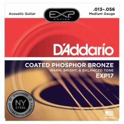 D'Addario EXP17 Akustik Gitar Teli (013-056)