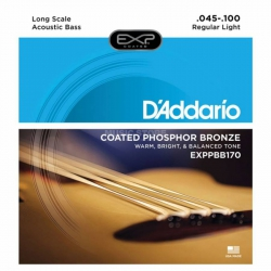 D'Addario EXPPBB170 Akustik Bas Gitar Teli (045-100)