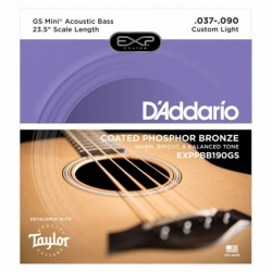 D'Addario EXPPBB190GS Akustik Bas Gitar Teli (037-090)