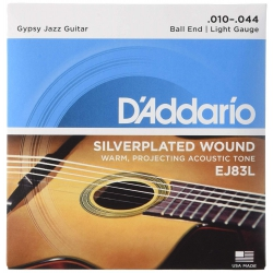 D'Addario Gypsy Jazz Akustik Gitar Teli (10-44)
