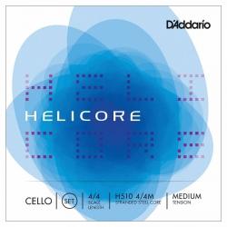 D'Addario H510 4/4M Helicore Çello Teli