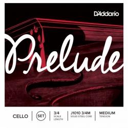 D'Addario J1010 3/4M Prelude Çello Teli