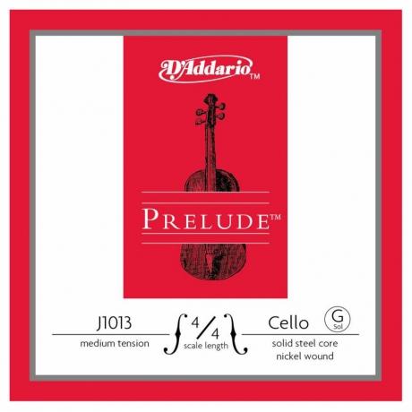D'Addario J1013 4/4M Prelude G Çello Teli (Sol)<br>Fotoğraf: 1/1