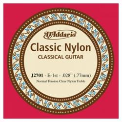 D'Addario J2701 Tek Klasik Gitar Teli (E)