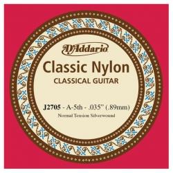 D'Addario J2705 Student Nylon Klasik Gitar Tek La Teli