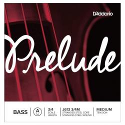 D'Addario J613 3/4M Prelude Tek Bas Teli (A)