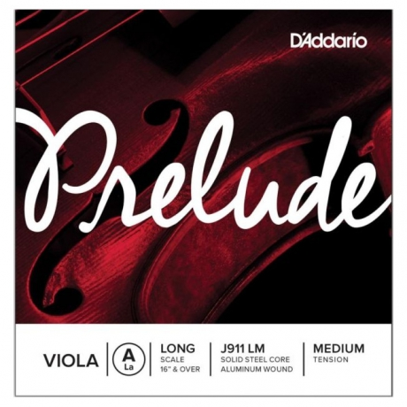 D'Addario J911LM Prelude A Viyola Teli (La)<br>Fotoğraf: 1/1