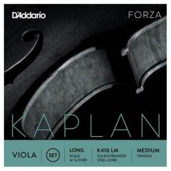 D'Addario K410 LM Kaplan Forza Viyola Teli