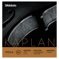 D'addario K412 LM Kaplan Forza Tek Re Viyola Teli