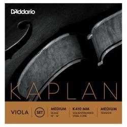 D'addario K413 LM Kaplan Forza Tek Sol Viyola Teli