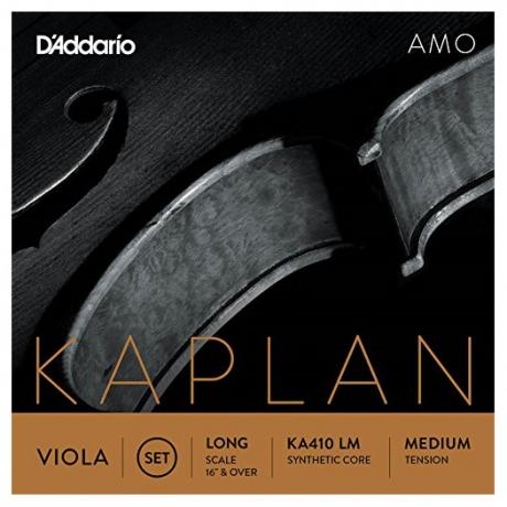 D'Addario KA410LM Kaplan Amo Viyola Set<br>Fotoğraf: 1/1