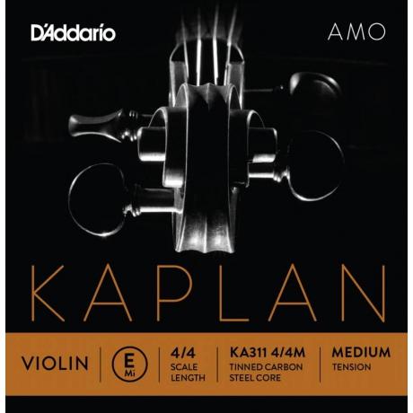 D&apos;Addario Kaplan KA311 4/4M Amo Tek Keman Teli (E)<br>Fotoğraf: 1/1