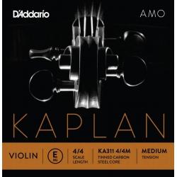 D'Addario Kaplan KA311 4/4M Amo Tek Keman Teli (E)