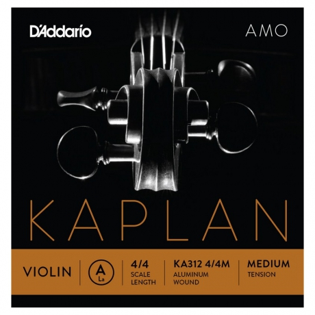 D&apos;Addario Kaplan KA312 4/4M Amo Tek Keman Teli (A)<br>Fotoğraf: 1/1
