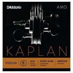 D'Addario Kaplan KA312 4/4M Amo Tek Keman Teli (A)