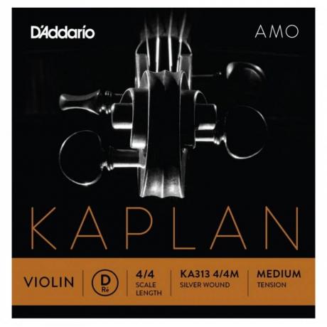 D&apos;Addario Kaplan KA313 4/4M Amo Tek Keman Teli (D)<br>Fotoğraf: 1/1