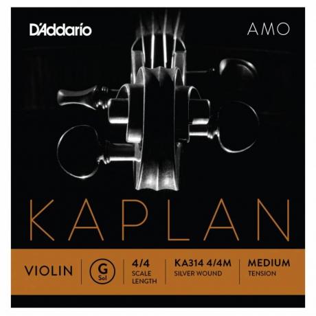 D&apos;Addario Kaplan KA314 4/4M Amo Tek Keman Teli (G)<br>Fotoğraf: 1/1