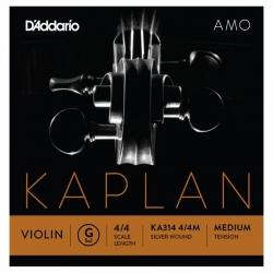 D'Addario Kaplan KA314 4/4M Amo Tek Keman Teli (G)