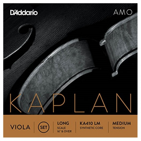 D&apos;Addario Kaplan KA410LM Amo Viyola Set<br>Fotoğraf: 1/1