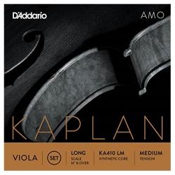 D'Addario Kaplan KA410LM Amo Viyola Set
