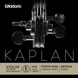 D`Addario KS311W 4/4M Kaplan Non Whistling Keman Tek Tel (E)