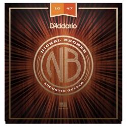 D'Addario NB1047 Nikel Bronz Akustik Gitar Teli (10-47)