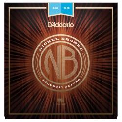 D'Addario NB1253 Nikel Bronz Akustik Gitar Teli (12-53)