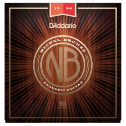 D'Addario NB1356 Nikel Bronz Akustik Gitar Teli (13-56)