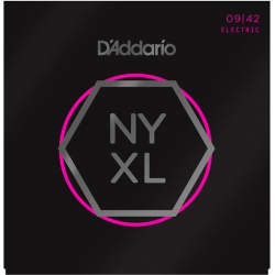 D'Addario NYXL0942 Nickel Wound Elektro Gitar Teli (09-42)