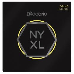 D'Addario NYXL0946 Nickel Wound Elektro Gitar Teli (09-46)