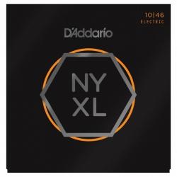 D'Addario NYXL1046 Nickel Wound Elektro Gitar Teli (10-46)