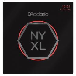 D'Addario NYXL1052 Nickel Wound Elektro Gitar Teli (10-52)