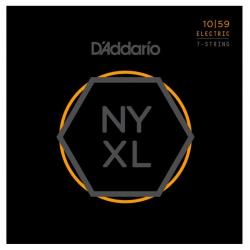 D'Addario NYXL1059 Nickel Wound Elektro Gitar Teli (10-59)