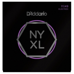 D'Addario NYXL1149 Nikel Wound Elektro Gitar Teli (11-49)