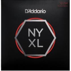 D'Addario NYXL1254 Nickel Wound Elektro Gitar Teli (12-54)