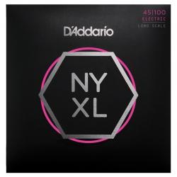 D'Addario NYXL45100 Bas Gitar Teli (045-100)