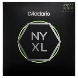 D'Addario NYXL45105 Bas Gitar Teli (045-105)