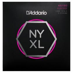D'Addario NYXL45130 Bas Gitar Teli (045-130)