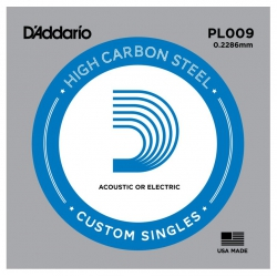 D'Addario PL009 Tek Elektro Gitar Teli (09)